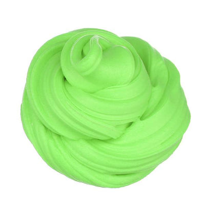 Scented Fluffy Foam Stress Relief - Green