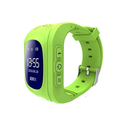Anti-Lost Smart Watch - Green color / English GPS Version
