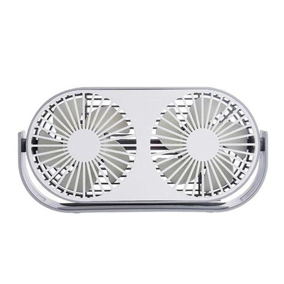 Aromatherapy Mini Desktop Fan - Grey