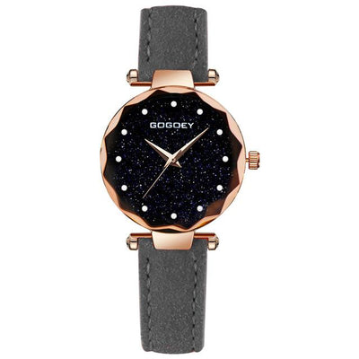 Women Starry Sky Watch - Grey