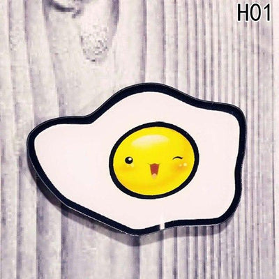 Food Pin Brooch - Egg1