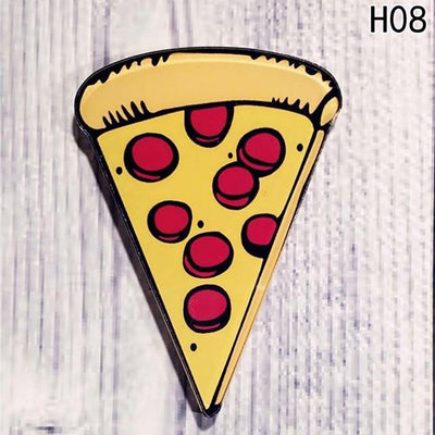 Food Pin Brooch - Pizza