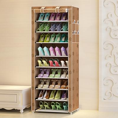 10 layers shoe storage - Green