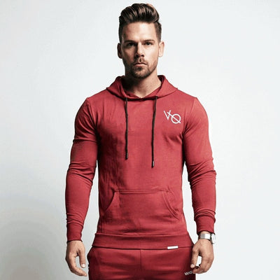Vanquish Men's Casual Sportswear - Red Hoodie / M