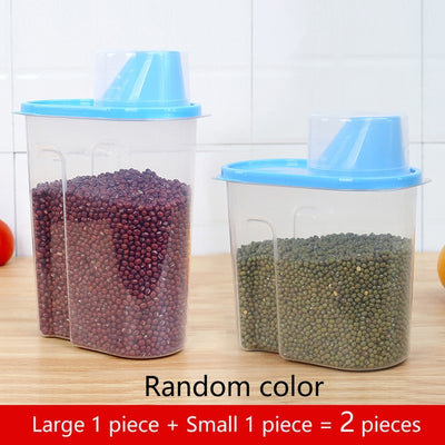PP Food Storage Box - Large 1-Small 1