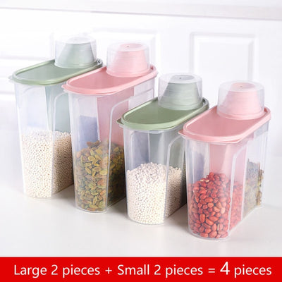 PP Food Storage Box - Large 2-Small 2