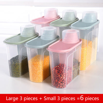 PP Food Storage Box - Large 3-Small 3