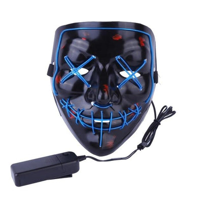 Purge Light-Up LED Mask - Blue
