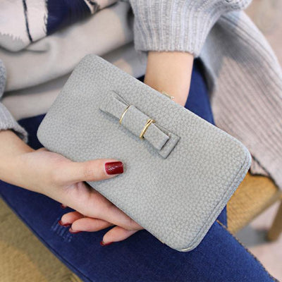 Wallet for Women - Lady Bei Bei Gray