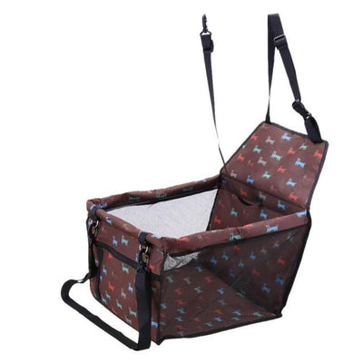 Dog Safety Car Seat - Light Brown