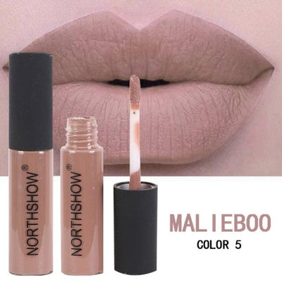 Long-Lasting Matte Lipstick - Light Grey