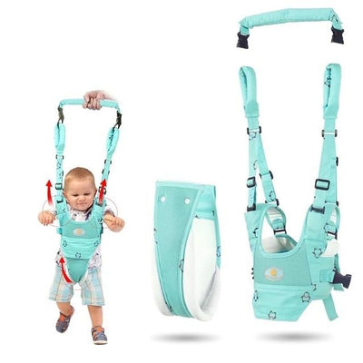 Baby Walker Harness - Light Blue
