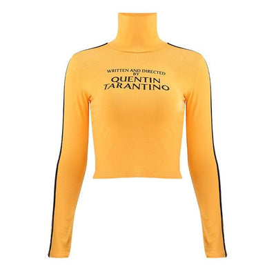 Quentin Tarantino Turtleneck Crop Top -