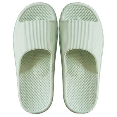 Men's Rubber Slides - Milk White