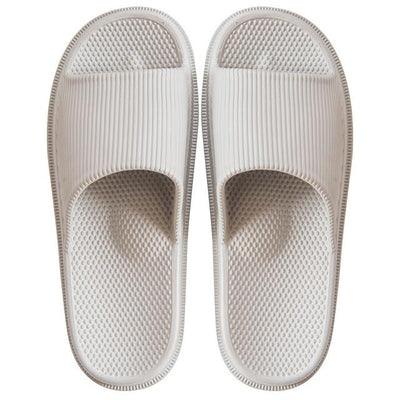 Men's Rubber Slides - Beige