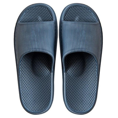 Men's Rubber Slides - Black2
