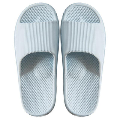 Men's Rubber Slides - White