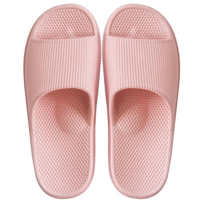 Men's Rubber Slides - Pink