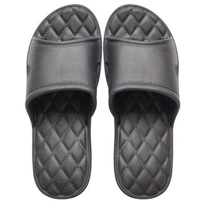 Men's Rubber Slides - Black 3