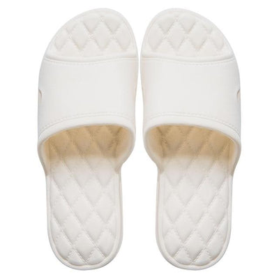Men's Rubber Slides - White 2