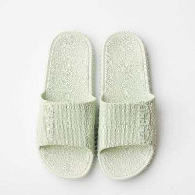 Men's Rubber Slides - Milk White 2