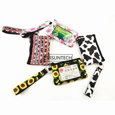 printed wallet for women (4pcs) - Mix styles