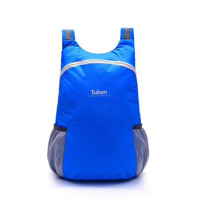Waterproof Folding Backpack - Navy blue