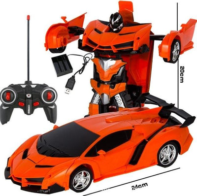 Transformers RC Car - Buy 2, Get 1 50% Off - Orange