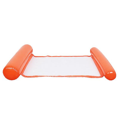 Swimming Pool Foldable Inflatable Floating Chair - Orange