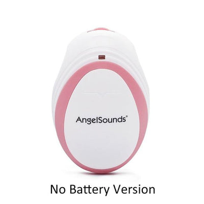 baby heartbeat doppler - Pink No Battery