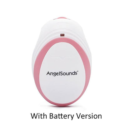 baby heartbeat doppler - Pink With Battery