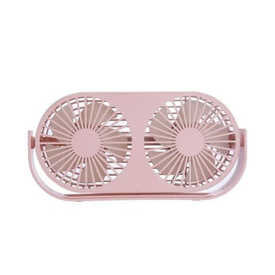 Aromatherapy Mini Desktop Fan - Pink
