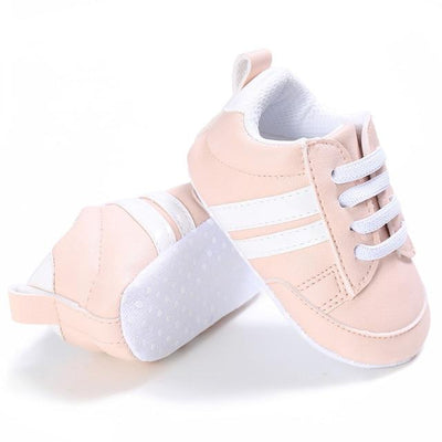 Soft Sport Sneakers - Pink / 0-6 Months