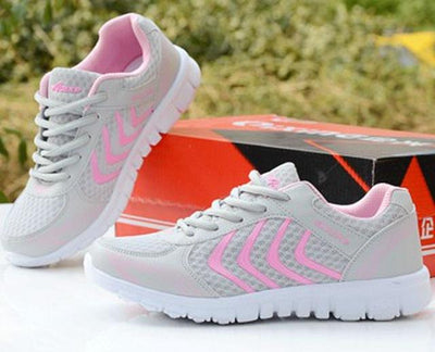 Womens Tennis Sport Shoes - Pink / 4.5