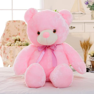 Light Up Teddy Bear - Pink