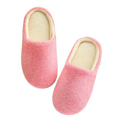 Candy Color Indoor Slippers - Pink / 36