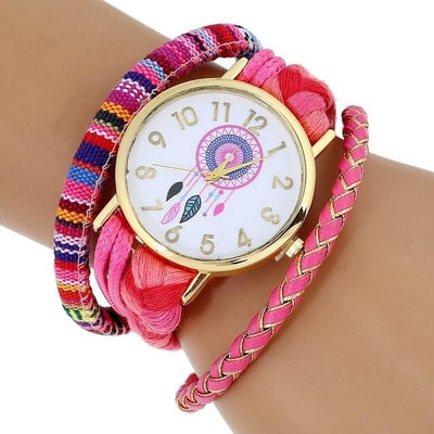 Dream Catcher Watch - Pink