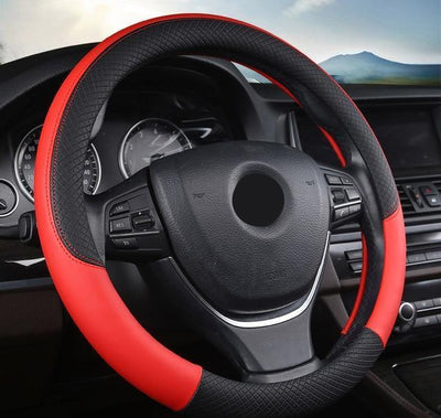 Steering Wheel Cover - Red