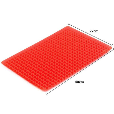 Silicone Oven Mat - Red