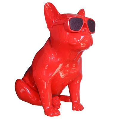 French Bulldog Speaker V2 - Red
