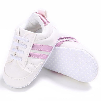 Soft Sport Sneakers - Red / 0-6 Months