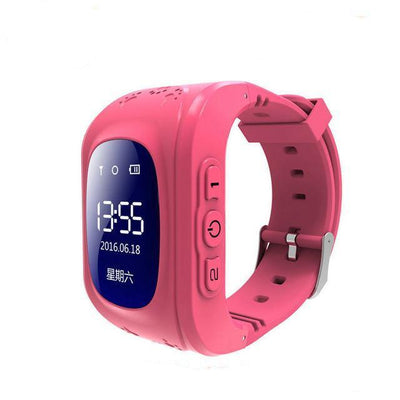 Anti-Lost Smart Watch - Red color / English GPS Version