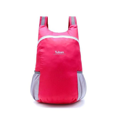 Waterproof Folding Backpack - Red piece
