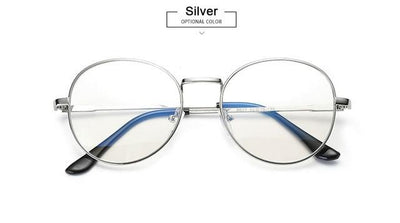 Anti-Blue-ray Computer Glasses - Silver