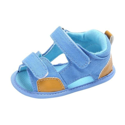 Moccasins Casual Sandals - Sky Blue / 0-6 Months