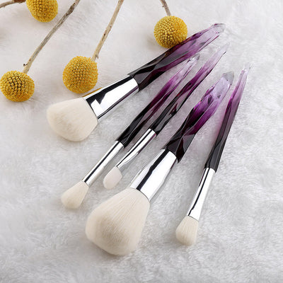 Crystal Style Makeup Brushes Set - Style2