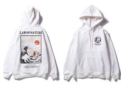 The Law of Nature Hoodie - White / M