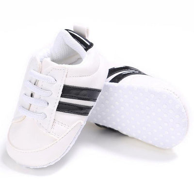 Soft Sport Sneakers - White / 0-6 Months
