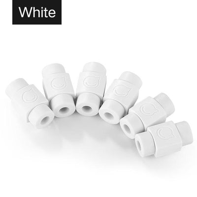 Cable Protector (6 PCS) - White