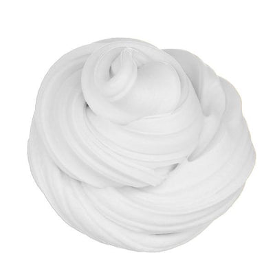 Scented Fluffy Foam Stress Relief - White